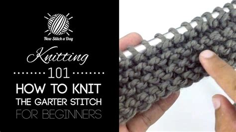 garter stitch in knitting knitting 101 how to knit the garter stitch