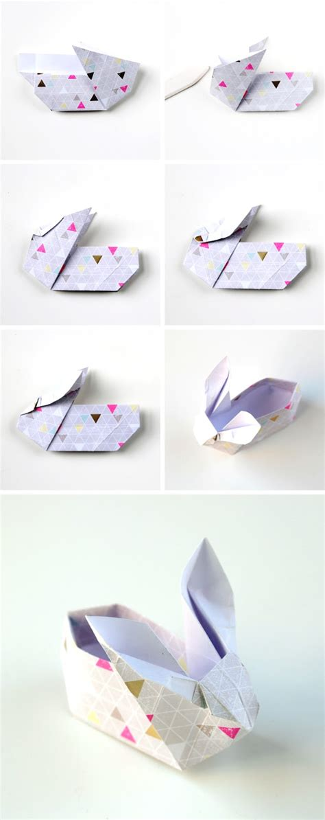 how to make a origami easter basket diy origami easter bunny baskets gathering