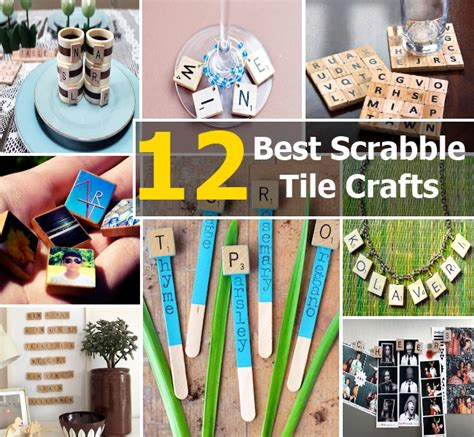 things to do with scrabble tiles 12 of the best scrabble tile crafts diy home things