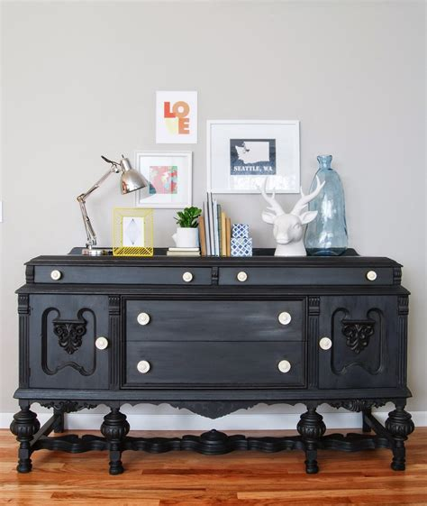 chalk paint furniture in black chalk paint furniture finishing to improve your room