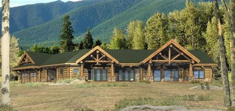 ranch log home floor plans log home ranch floor plans lovely dunn ridge log homes cabins and log home floor plans new