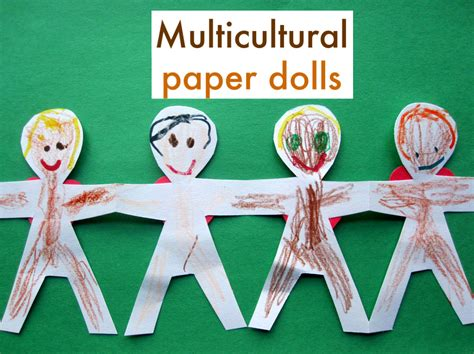 multicultural crafts for multicultural paper dolls no time for flash cards