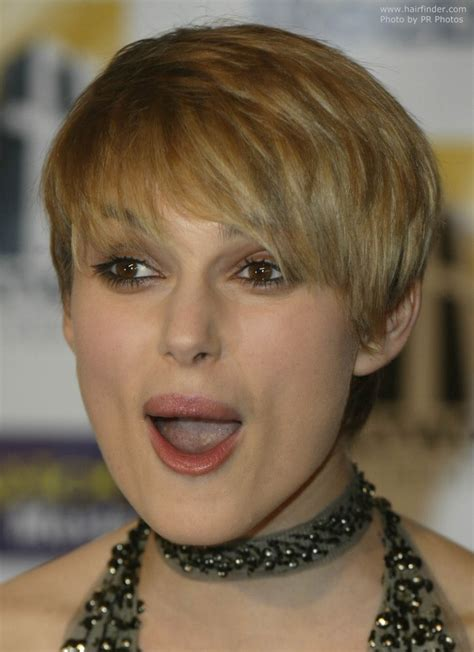 printable pictures of hairstyles keira knightley s extra short haircut with forward styling