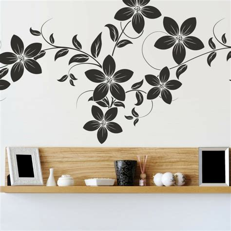 flower stickers for walls cool wall stickers affix tips and tricks for a creative