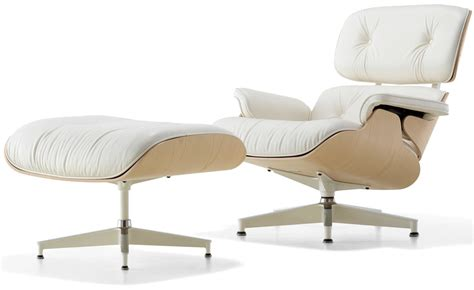 Eams Chair by White Ash Eames 174 Lounge Chair Ottoman Hivemodern