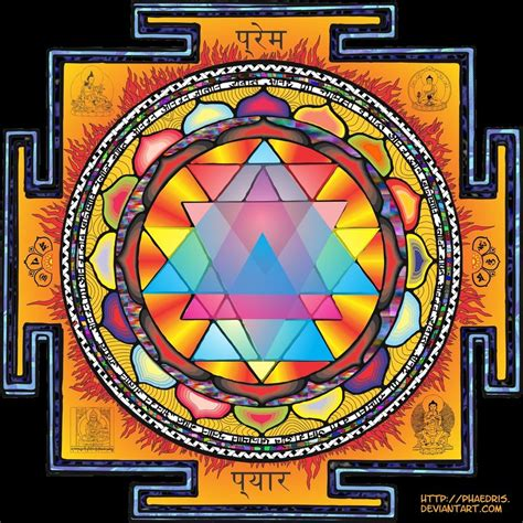 sri yantra mandala by phaedris on deviantart