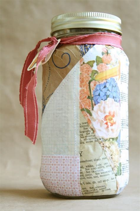 decoupage on glass jars decoupage glass jar products i