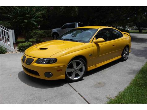free car manuals to download 2005 pontiac gto electronic toll collection 2005 pontiac gto for sale classiccars com cc 1003226