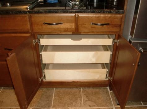 pull out drawers for kitchen cabinets kitchen cabinets with pull out drawers new interior