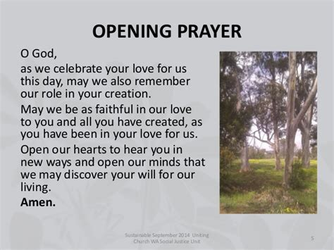 prayer for opening sustainable september 2014 worship resources for churches