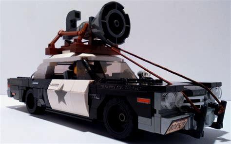 Blues Brothers Lego Set mit Blues Mobile