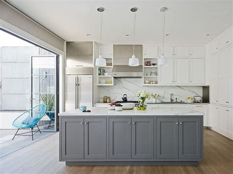 and white kitchen ideas classic and trendy 45 gray and white kitchen ideas