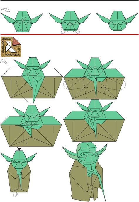 how to make a origami wars dollar bill origami yoda comot