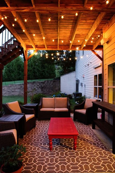 patio light ideas 17 best ideas about outdoor patio lighting on