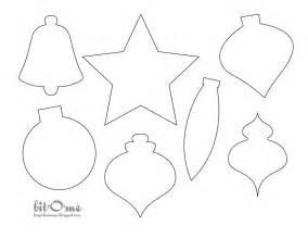 ornaments templates free felt tree ornament templates template idea