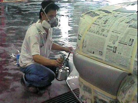 spray painter ppe bodywork