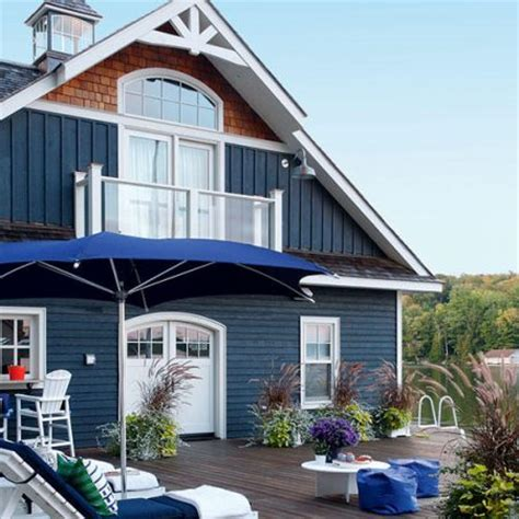 exterior paint colors lake house in my own style thrifty diy decorating ideas for your