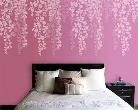 wall stencils for bedroom tree stencil bedroom wall stencil cherry blossom stencil