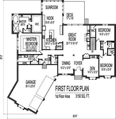 floor plans with 3 car garage 291 best home design blueprints images on