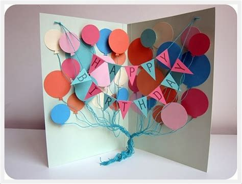how to make cool birthday cards 30 cool handmade card ideas for birthday and