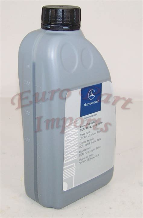 Mercedes Brake Fluid by Mercedes Dot 4 Brake Fluid Mercedes Oem Quality