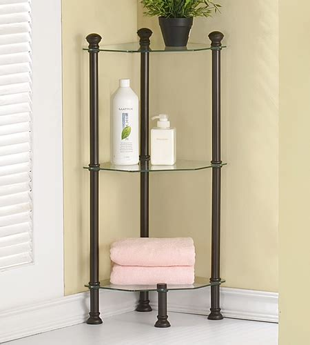 corner shelves bathroom small corner etagere in bathroom shelves