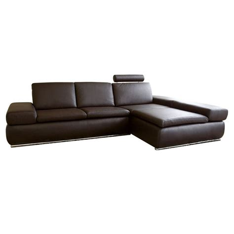 contemporary sectional leather sofa best leather sofas smalltowndjs
