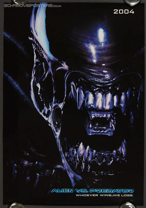 avp alien vs predator 2004 original us one sheet
