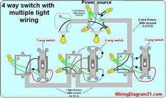 wiring lights 4 way light switch wiring diagram house electrical