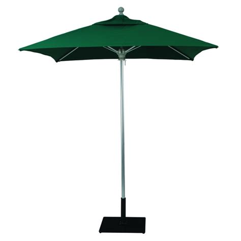 commercial patio umbrella galtech 6x6 square commercial patio umbrella