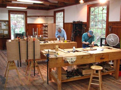 heritage school of woodworking out of space no problem with shop size here heritage