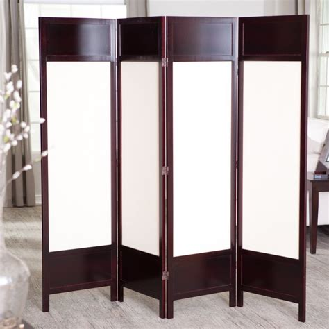 room divider panels 24 best room dividers screens made from canvas wood