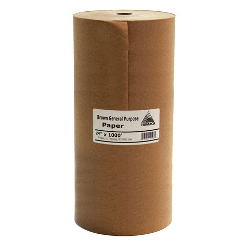 home depot paint paper easy mask 24 in x 1000 ft brown masking paper 12104