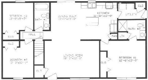 split bedroom house plans split ranch house plans lovely ranch floor plans with