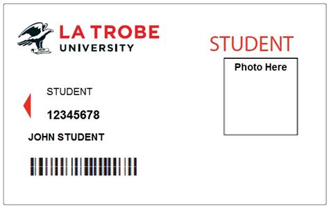 make your own student id card student identification id cards la trobe