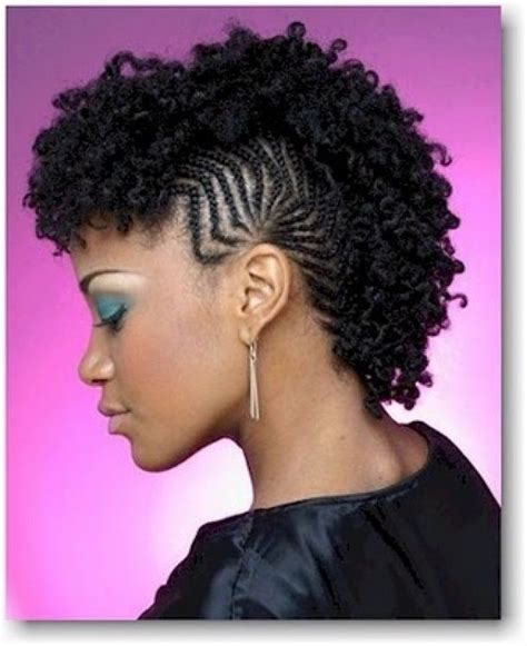 braided mohawk with curly braided mohawk hairstyles for image5 mohawk