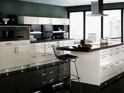 modern black and white kitchen designs contemporary black and white kitchen design ideas