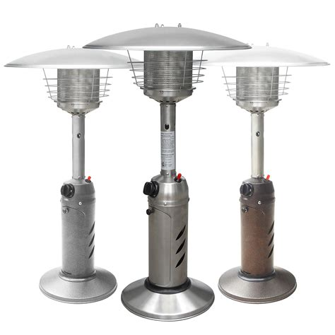 tabletop patio heaters tabletop outdoor patio heater garden commercial restaurant deck propane lp gas ebay
