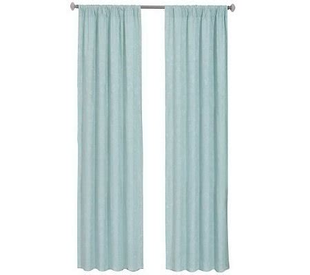 eclipse nursery curtains eclipse 42 quot x 84 quot nursery blackout curtain panel qvc