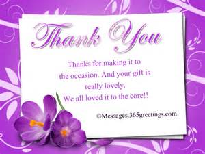 thank you messages for gifts 365greetings