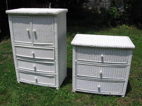 pier 1 wicker metal 6 drawer dresser home wicker dresser 4drawer chest with honey colored wicker