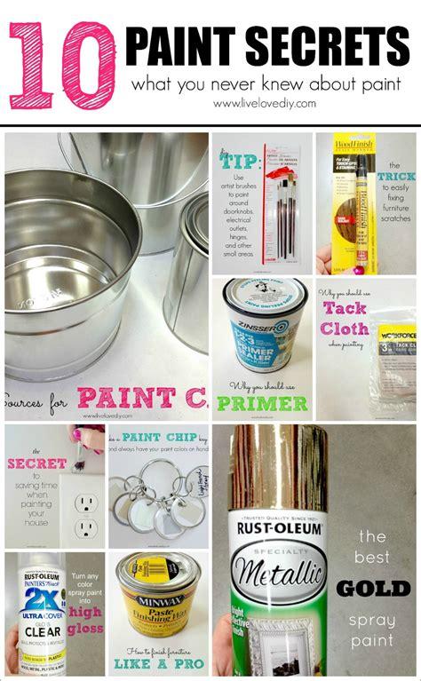 spray paint secrets livelovediy 10 painting tips tricks you never knew