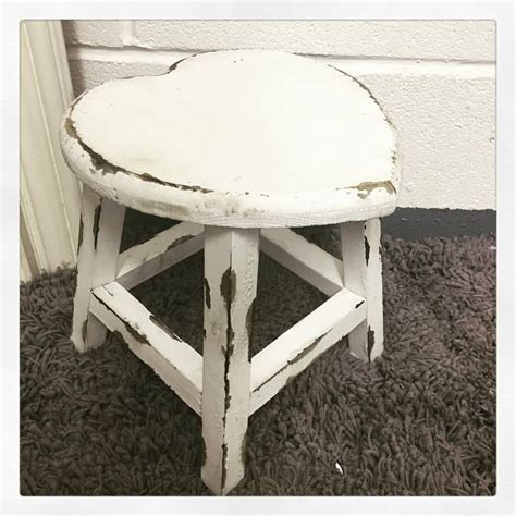 shabby chic stools small shabby chic vintage distressed white wooden
