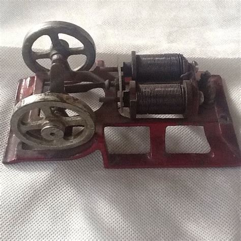Miniature Electric Motors by Antique Miniature Electric Motor Engine For Science Or