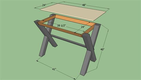 how to build a desk how to build a simple desk howtospecialist how to