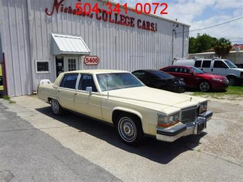 1986 Cadillac Fleetwood Brougham For Sale by Cadillac Fleetwood Brougham For Sale Carsforsale 174