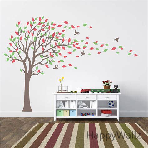 Nursery Tree Wall Stickers Uk gro 223 e familie baum wandtattoo werbeaktion shop f 252 r