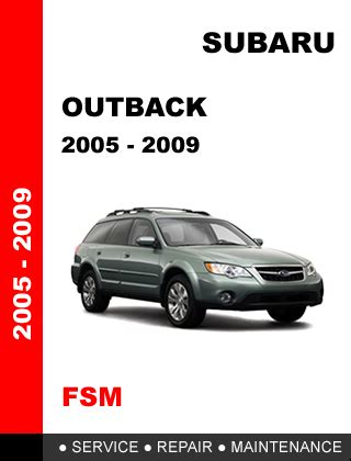 car manuals free online 2006 subaru outback head up display subaru outback 2005 2009 factory service repair manual access it in 24 hours other car manuals