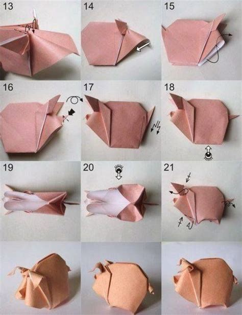 origami pigs to do origami pig crafts and gifts