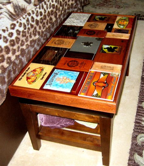 Storage Ideas For Tiny Bathrooms cigar box coffee table eclectic coffee tables